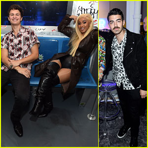 Ansel Elgort, Cardi B & Joe Jonas Flaunt Their Subway Style at Airbnb NYC Launch Event!