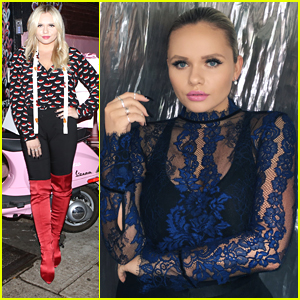 Alli Simpson Celebrates Aldo's Fall Campaign at NYFW