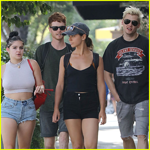 Ariel Winter Spends Her Day Off with Boyfriend Levi Meaden & Friends!