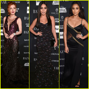 Bella Thorne Joins Vanessa Hudgens & Shay Mitchell for a Night Out during NYFW!