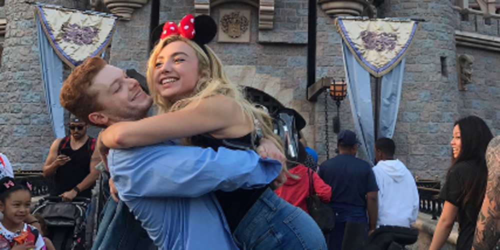 Peyton list cameron monaghan hold hands while out at disneyland peyton list cameron monaghan hold hands while out at disneyland pics cameron monaghan peyton list just jared jr m4hsunfo