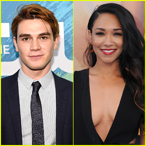 The Flash's Candice Patton Sends KJ Apa Get Well Wishes on Twitter