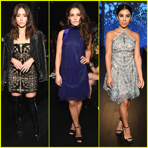 Chloe Bennet & Chrissie Fit Give Some Edge To Tadashi Shoji's Front Row During NYFW 2017