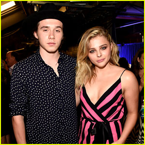 Brooklyn Beckham Cozies Up to Chloe Moretz in Cute Snap