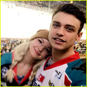 Dove Cameron Adorably Sings Thomas Doherty to Sleep (Then Takes a Pic)