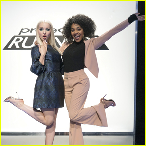 Dove Cameron & China Anne McClain Guest Judge on 'Project Runway' Tonight!