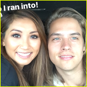 Dylan Sprouse & Brenda Song Reunite in LA & The Pic Is So Cute!