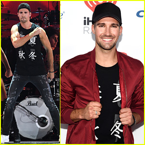 James Maslow Wins Macy's Rising Star Award at iHeartRadio Music Festival