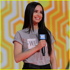 Sofia Carson Gives Empowering, 'Descendants'-Inspired WE Day Speech