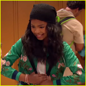'Raven's Home' Star Navia Robinson Offers Advice To Fans Who Fear Dancing In Front of Others