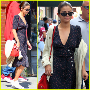 Selena Gomez Steps Out For a Stylish Solo Outing in SoHo