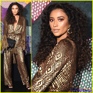 Shay Mitchell Turns Into The Disco Queen of Our Dreams at NYFW