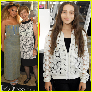 Rachel Crow & Sky Katz Kick Off NYFW at Snoopy & Belle Exhibit!