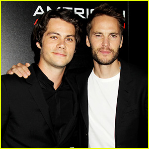Taylor Kitsch Says Dylan O'Brien Has 'Infectious Energy for Days'