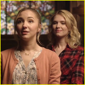 Claudia Lee & Audrey Whitby Do a Trust Exercise In First Look For 'In The Vault' (Exclusive)