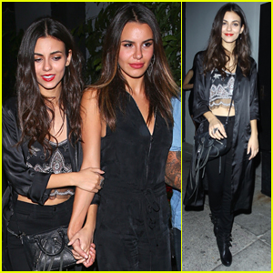 Victoria Justice Celebrates Christina Milian's Birthday in Los Angeles