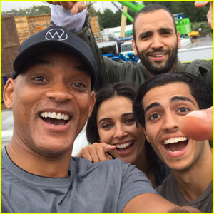 'Aladdin' Star Mena Massoud Shares First Cast Photo From Set!
