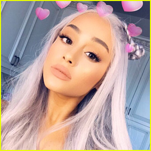 Ariana Grande Dyed Her Hair Grey - See the Pic!