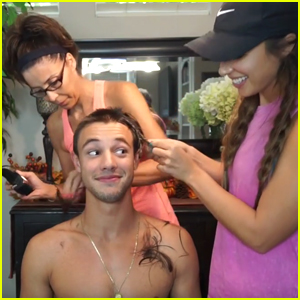 Cameron Dallas Shaves Off All His Hair!