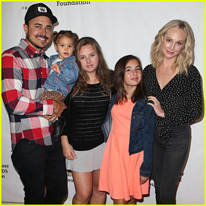 Candice King & Her Family Enjoy Fun-Filled Sunday at 'A Time For Heroes' Festival