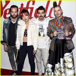 DNCE Pump Up the Crowd at Westfield Century City Reopening!