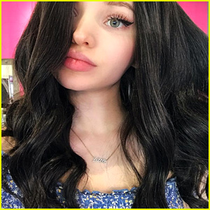 Dove Cameron Tries Out Black Hair & Looks Fabulous - See the Pic!