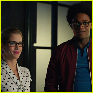 Emily Bett Rickards Dishes On Felicity's New Company With Curtis on 'Arrow'