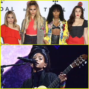 Willow Smith & Fifth Harmony Hit the Stage at the Tidal X Brooklyn Concert!