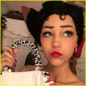 Grace VanderWaal Channels an Adorable Betty Boop For Halloween