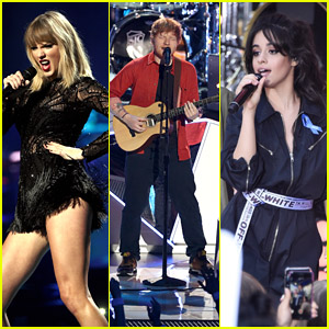 Taylor Swift, Ed Sheeran, Camila Cabello & More Music Stars Will Hit the Stage for iHeartRadio Jingle Ball Tour 2017!