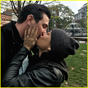 Janel Parrish Engaged To Longtime Boyfriend Chris Long!