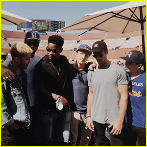 Jordan Fisher & Our Fav Disney Channel Boys Just Reunited!
