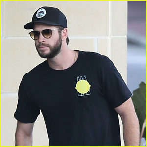 Liam Hemsworth Takes a Break From Filming New Movie 'Killerman'