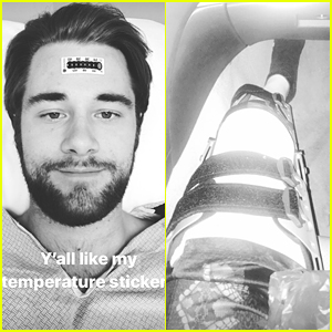 Luke Benward Injures Leg in Mysterious Accident