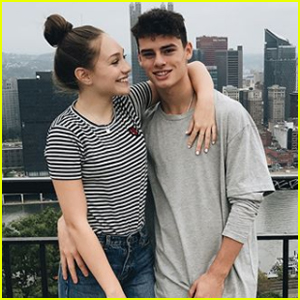 Maddie Ziegler Celebrates Boyfriend Jack Kelly's Birthday!