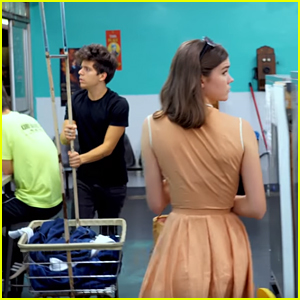 Maia Mitchell & Rudy Mancuso Still Keep Passing Each Other By in New Video