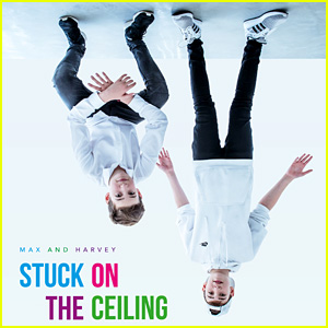 Max & Harvey Are 'Stuck on the Ceiling' in New Music Video - Watch Now!