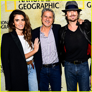 Nikki Reed & Ian Somerhalder Support Nikki's Dad at 'The Long Road Home' Premiere!