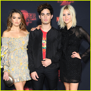 'Alexa & Katie's Paris Berelc & Isabel May Support 'Stranger Things' Stars at Premiere Event