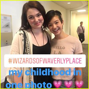 Andi Mack's Peyton Elizabeth Lee Childhood Dreams Came True Meeting Jennifer Stone