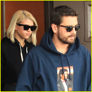 Sofia Richie Enjoys Lunch Date with Boyfriend Scott Disick