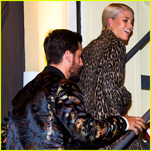 Sofia Richie is All Smiles During Night Out With Scott Disick