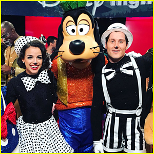 Victoria Arlen & Val Chmerkovskiy Star as Mickey & Minnie on Disney Night DWTS Season 25 Week 5