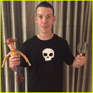 will poulter dressed up as sid from toy story for halloween to convey an important message about bullying