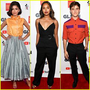 Zendaya, Alisha Boe, & Connor Franta Team Up for GLSEN Respect Awards