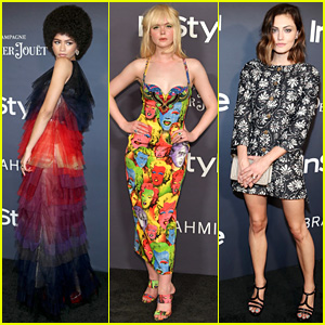 Zendaya, Elle Fanning, & Phoebe Tonkin Strut Their Stuff at InStyle Awards
