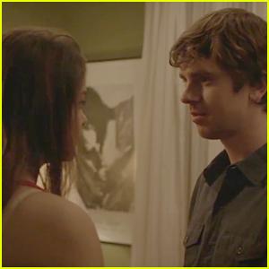 Freddie Highmore & Odeya Rush Passionately Kiss in 'Almost Friends' Sneak Peek - Watch Now! (Exclusive Premiere)