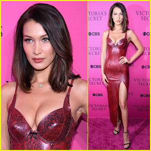 Bella Hadid Wows at VS Fashion Show Viewing Party!