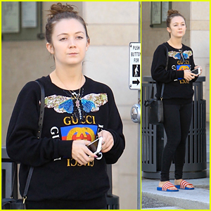 Billie Lourd Hits the Salon in Beverly Hills!