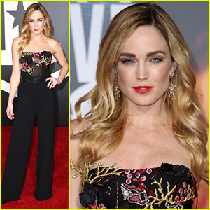 Caity Lotz Hits 'Justice League' Premiere After Voicing Support To Arrowverse Crew